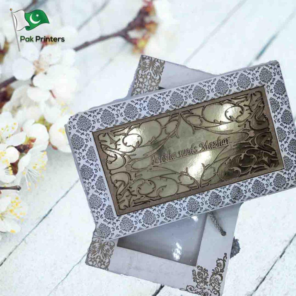 wedding invitation box