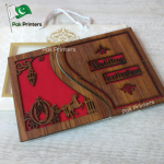 wd10 wooden wedding cards