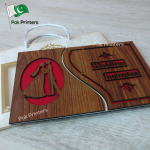 wd11 wooden wedding cards