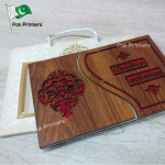 wd13 wooden wedding cards