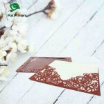 laser cut wedding invitation card in low prices