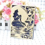 Birthday quinceanera glitter card