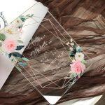 Wedding invitation simple card