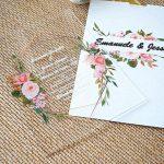 white envelop invitation card