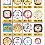 Wall Clocks for Printing